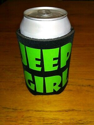 2 Jeep Fan Beer Can Cooler Coozie Koozie USA Flag Gift QTY 2