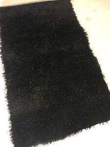 Soft black rug Hillarys Joondalup Area Preview