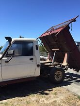 Daihatsu Rocky 4x4 diesel work horse with tipper South Spreyton Kentish Area Preview