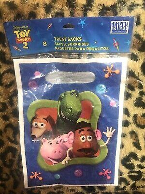 Goodie Brand (Disney's Pixar Toy Story 2 8ct Treat Goodie Bags Brand)