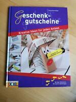 Geschenkgutscheine Kreative Ideen für jeden Anlass Buch Kinder München - Aubing Vorschau