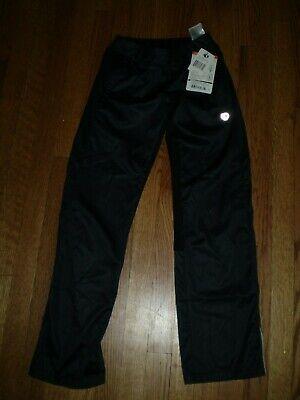 21a9d00e3d Womens PEARL IZUMI Elite Series 12211107 XS SOFTSHELL PANTS blackk rear  zipp po