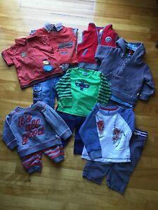 Lot de vêtements pour garçon 9 mois