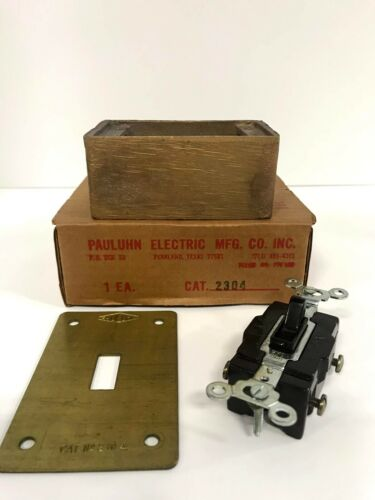 2304 Pauluhn Switch w/ Receptacle Box