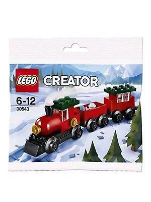 LEGO Creator 30543 Christmas Train Polybag Building Set (66 Pieces)