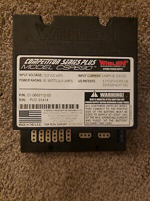 Whelen Csp690 Strobe 90 Watt Competitor Series Plus Power Supply - Police Fire
