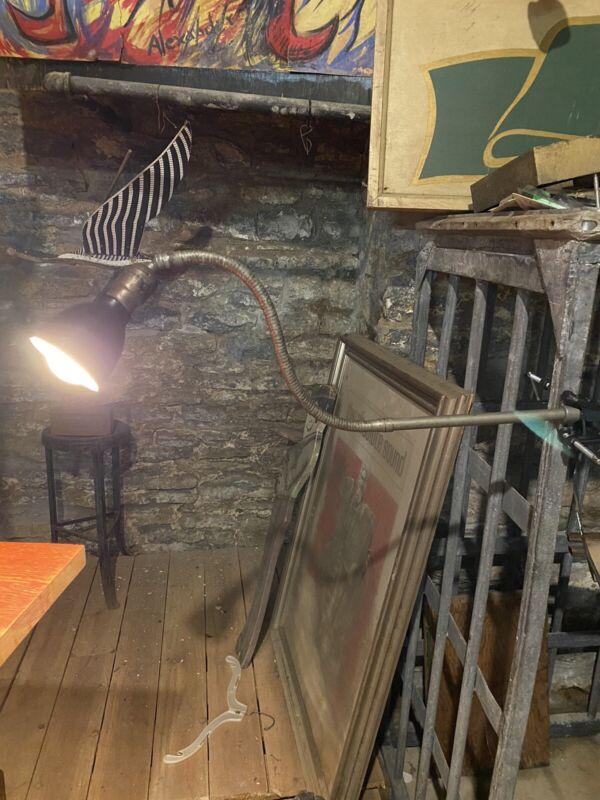 Industrial Task Dental Lamp Medical Exam Wall Sconce Vintage Desk OC White Table