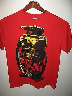 The Red Jumpsuit Apparatus Handgranate USA Rock Band Konzert Tour T-Shirt Med - Band-konzert-tour-t-shirt