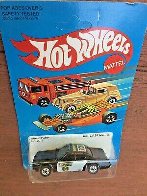 EXCELLENT VINTAGE 1982 MATTEL HOT WHEELS SHERIFF PATROL UNOPENED PACKAGE ESTATE