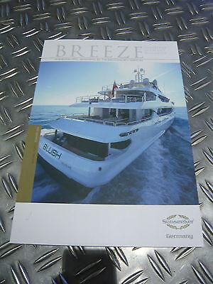 Breeze Sunseeker Germany Yacht Magazin Broschüre Infoheft Sommerausgabe 2014
