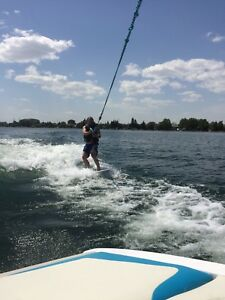 Wake boat for rent
