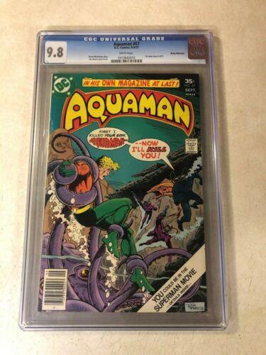 Aquaman #57 CGC 9.8 NM/MT top graded ROCKY MOUNTAIN PEDIGREE 1977 BLACK MANTA