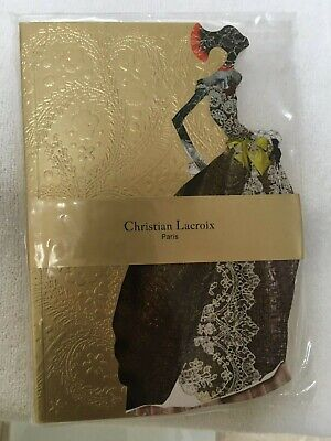 Christian Notebooks (New Christian Lacroix Paris Madame Nubienne A5 Softcover Notebook 80 Ruled)