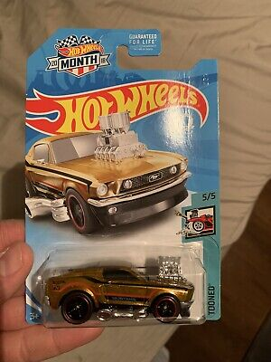 2018 hot wheels super treasure hunt 68 mustang