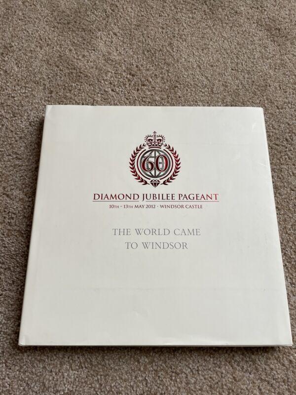 60 diamond jubilee pageant windsor castle book autographed