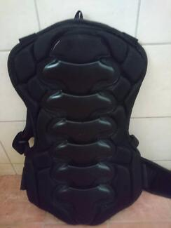 Motorcycle Back Protector with Kidney Belt