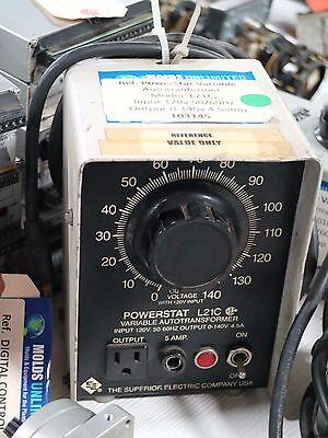Superior Electric Powerstat Model L21c Variable Autotransformer