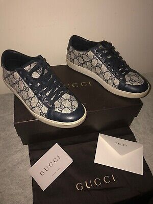 Gucci Ace Monogram GG women's Trainers Size 37 UK 4.5 Used