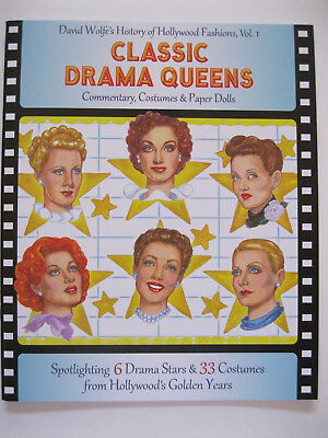 Hollywood Stars Costumes (CLASSIC DRAMA QUEENS Paper Doll Book--6 Hollywood Stars & 33 Movie)