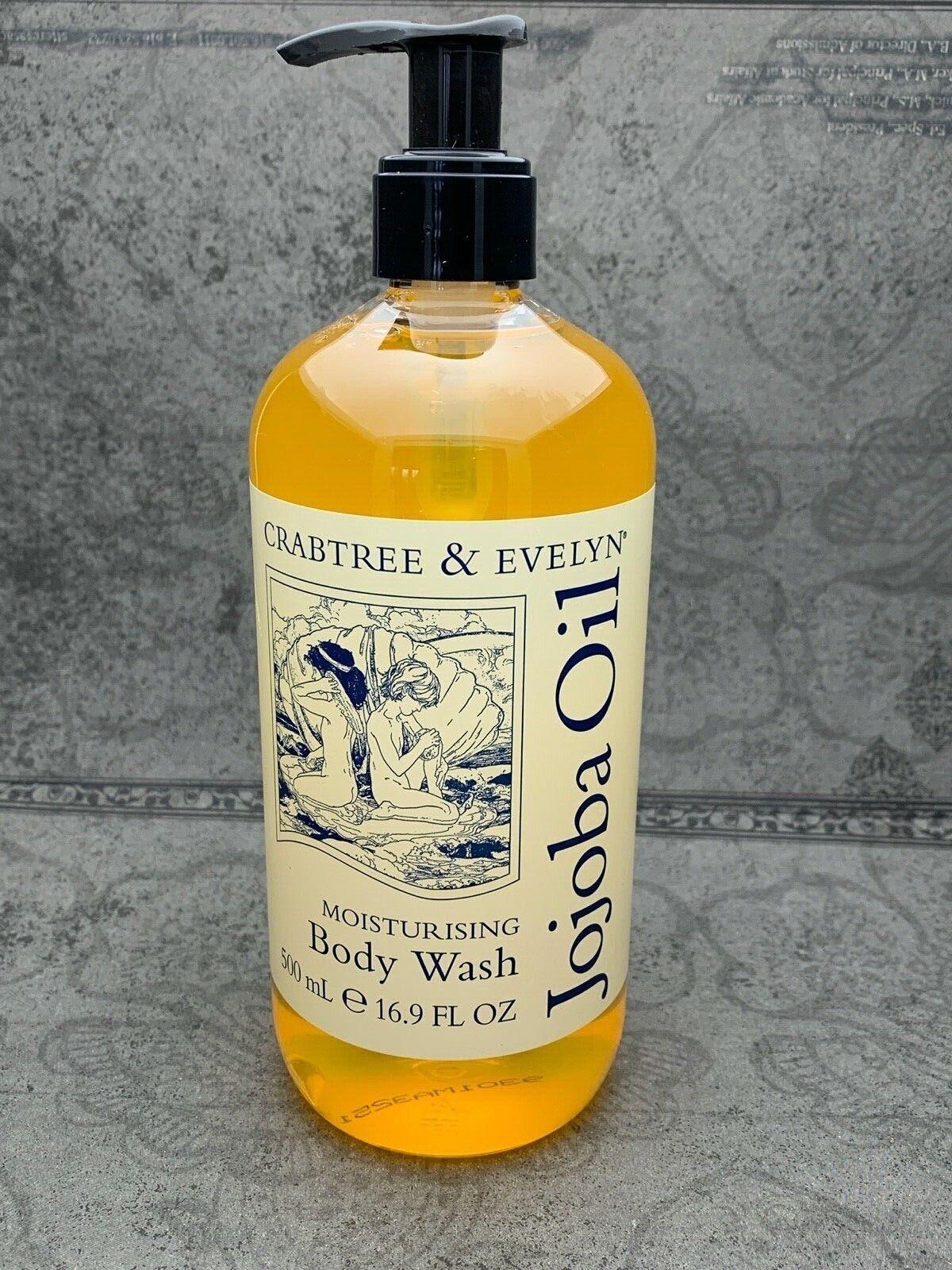 Crabtree & Evelyn Jojoba Oil Moisturizing Body Wash LARGE SI