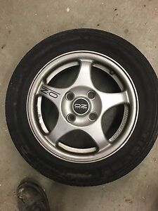 15 inch oz rally rims and tires P195/60R15