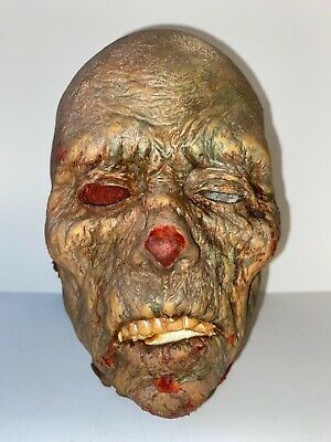 "Vintage ""Head"" Zombie Walking Dead Horror; Solid Molded; Very Detailed; Lot #1"