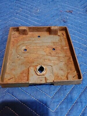 Vintage Antique Vending Gumball / Peanut Machine Parts Base