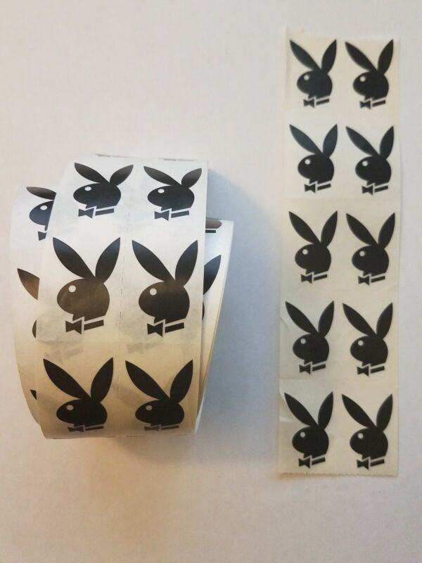LOT 10 Authentic Playboy Bunny Tanning Bed Stickers - HIGH Q