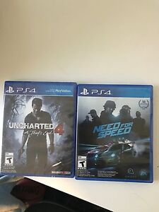 Uncharted 4 and NFS New