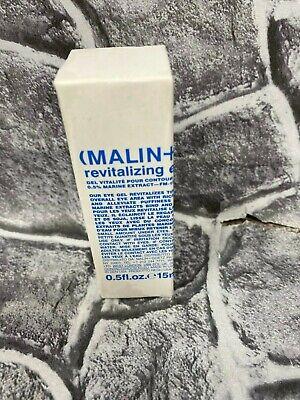 Malin + Goetz Revitalizing Eye Gel Anti Aging Marine Extract 0.5 fl oz Full Size