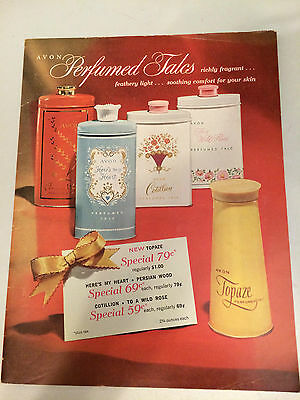 RARE!! Vintage 1961 AVON Brochure - Campaign 14 - EXCELLENT CONDITION!