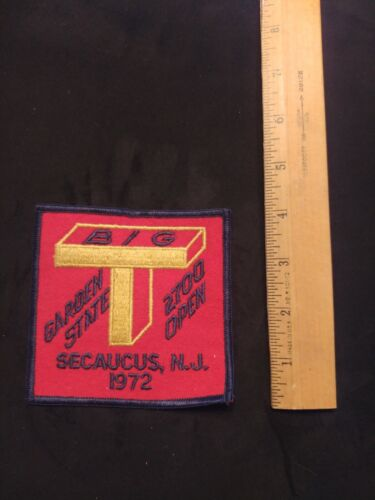 Vintage BIG T New Jersey Shooting 2700 Patch 1972