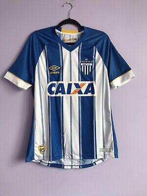 Original Brand New And Rare Avai Home 2018 Football Shirt Brazil Umbro - Medium image