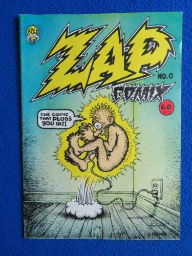 ~~ ZAP COMIX #0 APEX NOVELTIES 1967 ~ R CRUMB ~~