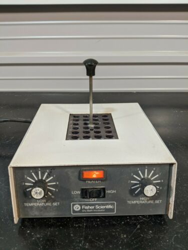 Fisher Scientific 11718 Dry Bath Incubator with Heat Block TESTED / GUARANTEED