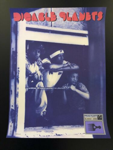 Digable Planets 18x24 Poster 1994 Blowout Comb