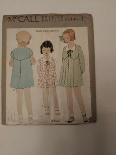 Antique Sewing Pattern Girl