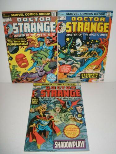 Marvel Comics Doctor Strange # 9 10 11 Higher Grade Run