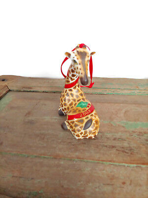 Lynn Chase Designs Giraffe Jungle 2002 Annual Christmas Christmas Ornament