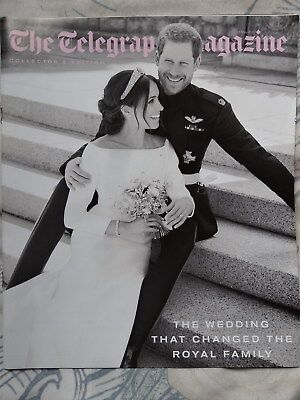 The Royal Wedding Telegraph magazine may 2018