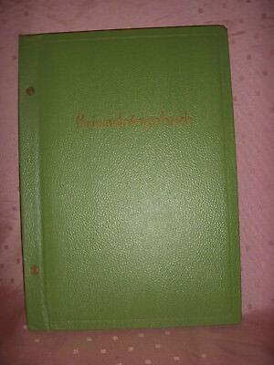 Grünes  Brigadetagebuch aus der DDR Original-Unbenutzt nicht beschrieben