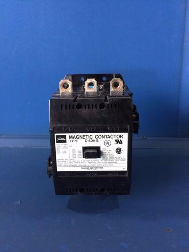 TOSHIBA C180A-E 180A 600V 3PH MAGNETIC CONTACTOR