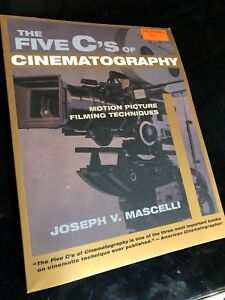 The five c's of cinematography book Sheridan college
