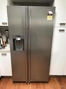 Samsung side by side fridge with automatic ice and water dispensor Croydon Park Canterbury Area Preview