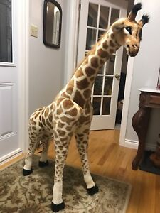 Stuffed Giraffe named Gerald