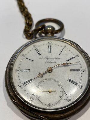 Old Key Wound Pocket Watch