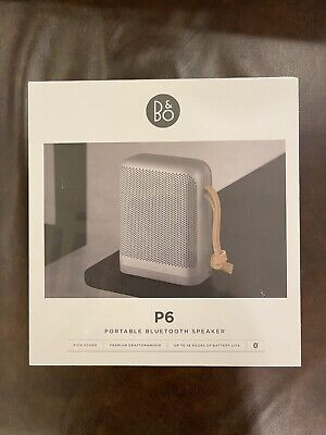 Bang & Olufsen Beoplay P6 Portable Speaker - Silver