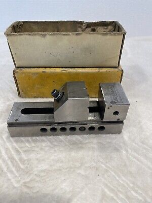 Fowler Precision Toolmaker Pin Type Grinding Vice 75 Mm
