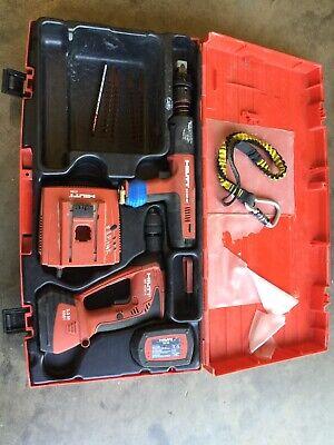 Hilti X-bt Set Dx351bt Powder Gun Xbt 4000-a Drill 2 Batteries Charger