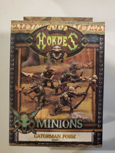 Hordes Minions - Gatorman Posse Unit